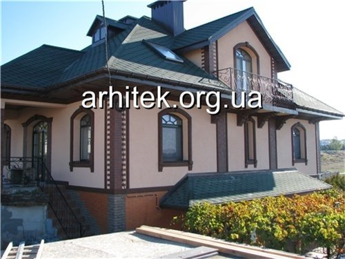 Как оформить фасад частного дома пенопластом, оформление фасада частного дома