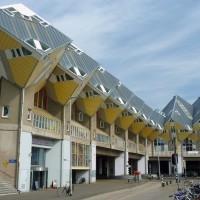 Кубические-дома-Роттердам-Нидерланды
