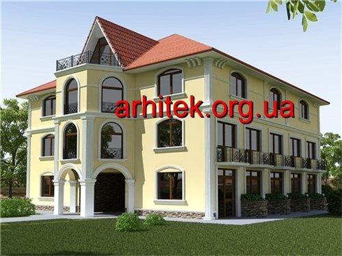как оформить фасад дома из пенопласта