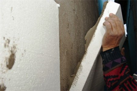 стоимость отделки фасада дома из пенопласта