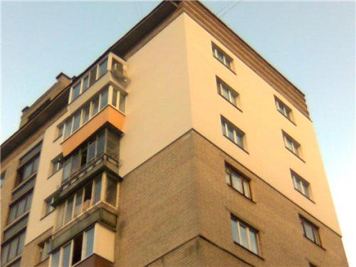 Штукатурка фасадов дома из газоблоков