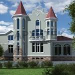 3D визуализация фасада
