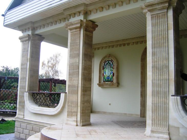 Элементы фасада для декоративной отделки