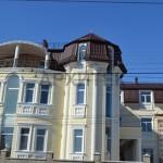 архитектурные фасады домов