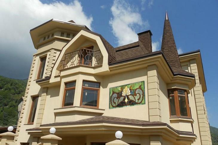 Фасадный декор в Евпатории