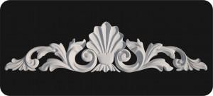 барельефы из пенопласта, лепной фасадный декор из пенопласта