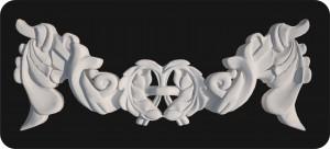 барельефы из пенопласта, барельефы из пенопласта купить, лепной декор из пенопласта, дизайн экстерьера