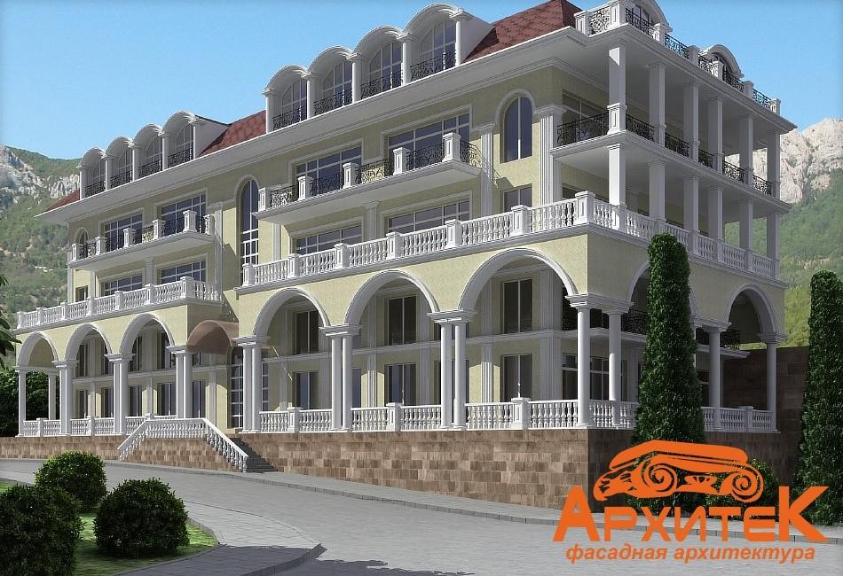 примеры оформления фасадов домов