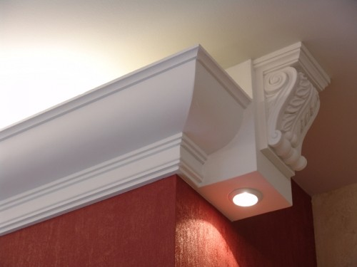 Эксклюзивный декор для интерьера, декоративная лепнина