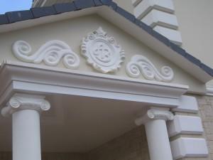 Фасадный декор дизайн