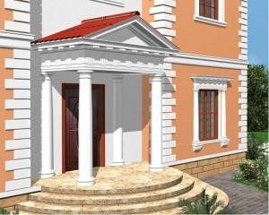 Современный фасадный декор оживляет старые идеи декорирования дома