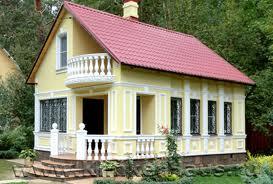Отделка фасада дома. Лепной декор в экстерьере зданий