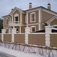 Фасадный декор из пенопласта пенополистирола