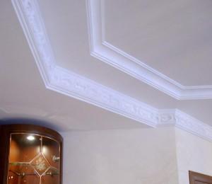Лепной декор в интерьере и экстерьере здания  – карнизы из полиуретана и других материалов