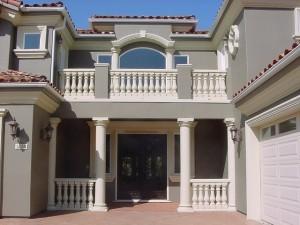 Колонны из пенопласта — классический лепной декор интерьера и фасада