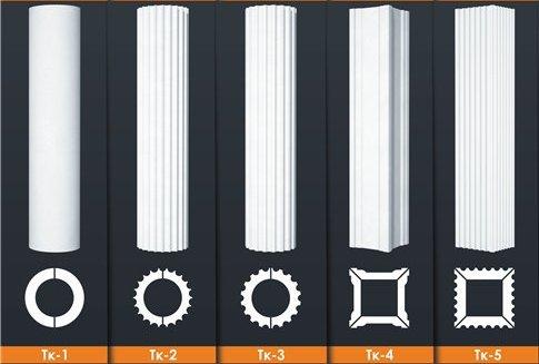 колонны из пенопласта в украине купить стволы