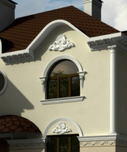 Оформление фасадов зданий