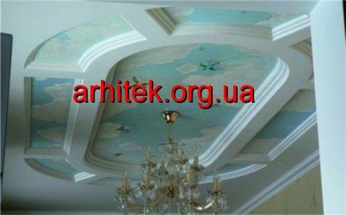 подвесной потолок из пенопласта