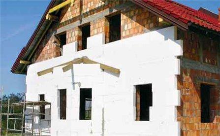 монтаж стоимость отделки фасада дома из пенопласта
