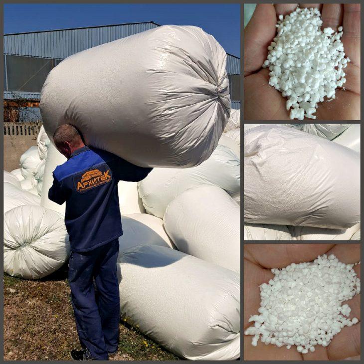 Пенополистирол гранула - отличный теплоизолирующий материал! И не только!