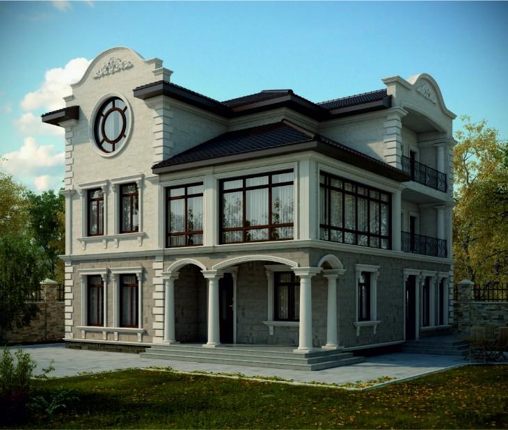 Уникальный архитектурный фасад в Крыму: Новые материалы и технологии на службе дизайнеров и архитекторов