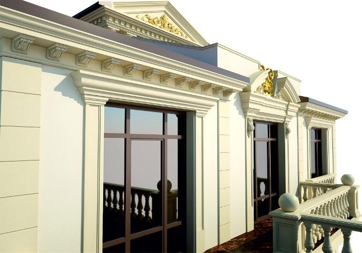 Ставрополь Уникальный лепной фасадный декор