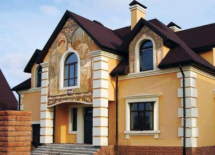 Завод фасадного декора – гарантия качественной отделки: Компания Архитек-ведущий производитель пенопластового фасадного декора