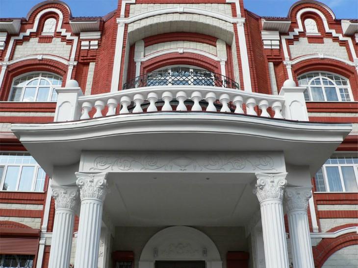 Лепнина на фасаде: Стили лепного декора