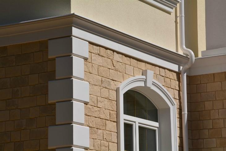 Фасадный декор из пенопласта в Краснодаре: Лепнина из пенопласта – роскошь и индивидуальность