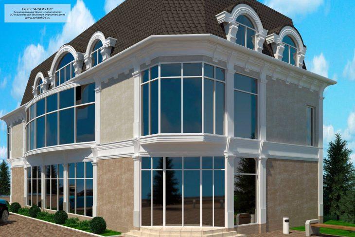 Сегодня фасады декорировать можно быстро и недорого: Современная лепнина из пенопласта