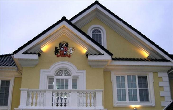 Декоративные элементы фасада : воплощение мечты
