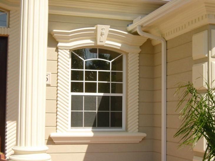 Оригинальный фасад дома - недорого и практично