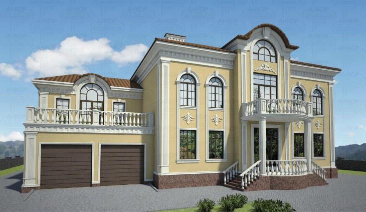 Элементы фасада дома: Выбираем фасадный декор_1