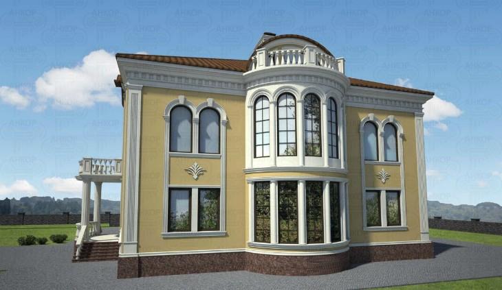 Современный фасад коттеджа: Из чего складывается облик постройки