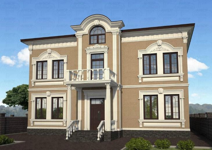 Как оформить фасад дома? Правила и виды оформления фасада_1