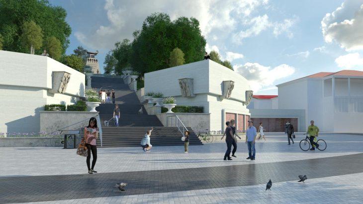 Закончена реставрация Матросского бульвара в Севастополе