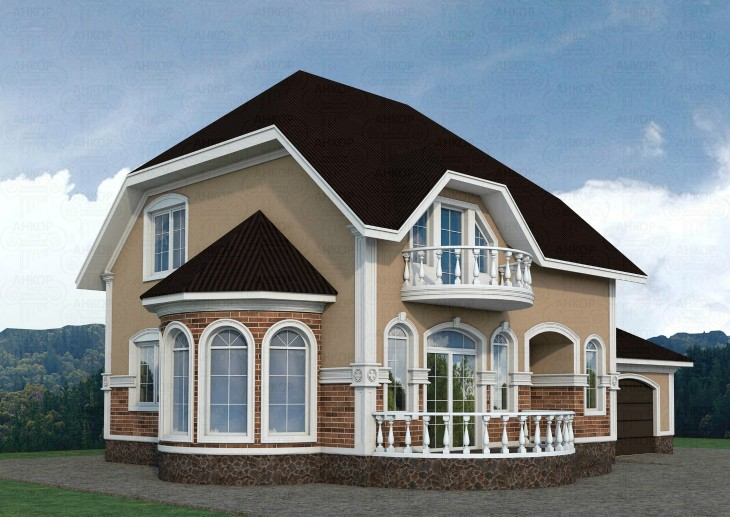 Изготовление фасадов: Виды материалов для декора фасада