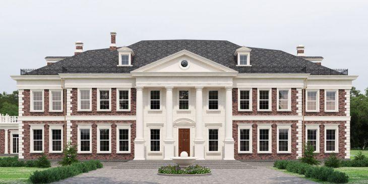 Лепнина на фасаде: Современный декор для быстрого преображения дома