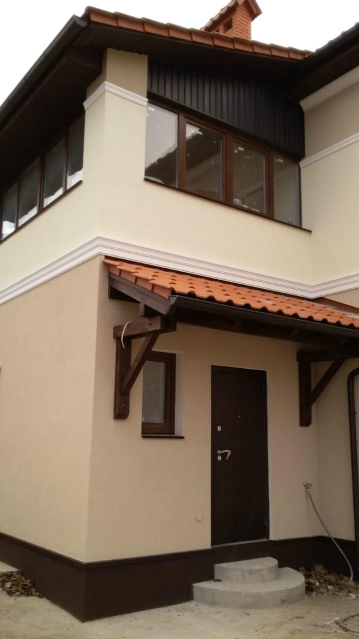 Фасадный декор Дом в Севастополе 1