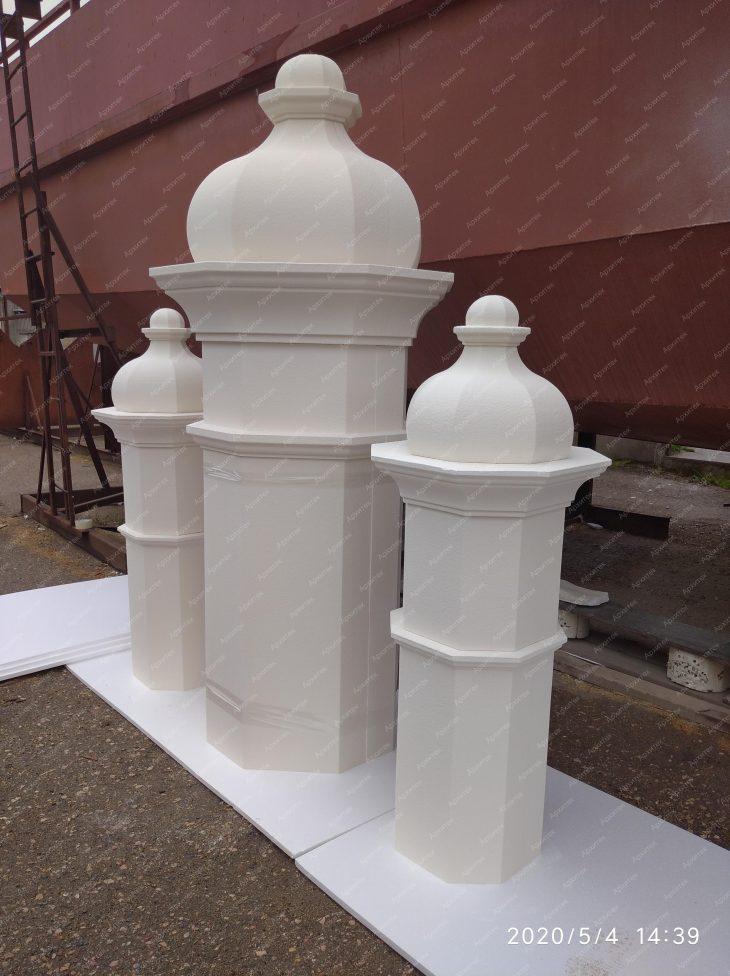 Реставрация летней эстрады Ракушка в Севастополе