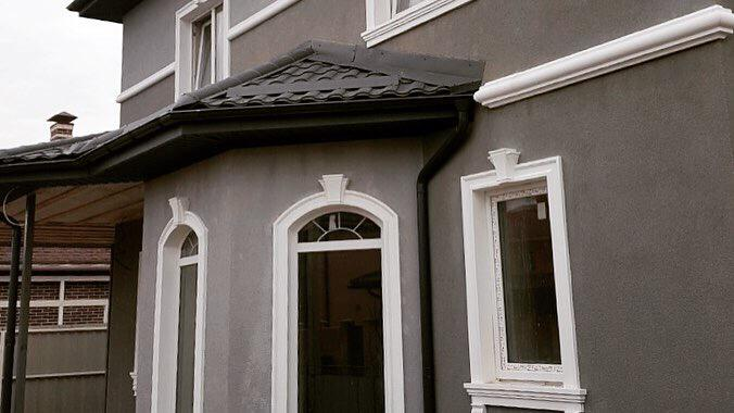 мухаметов обрамление окон пенопластом на фасаде дома фото могут составлять
