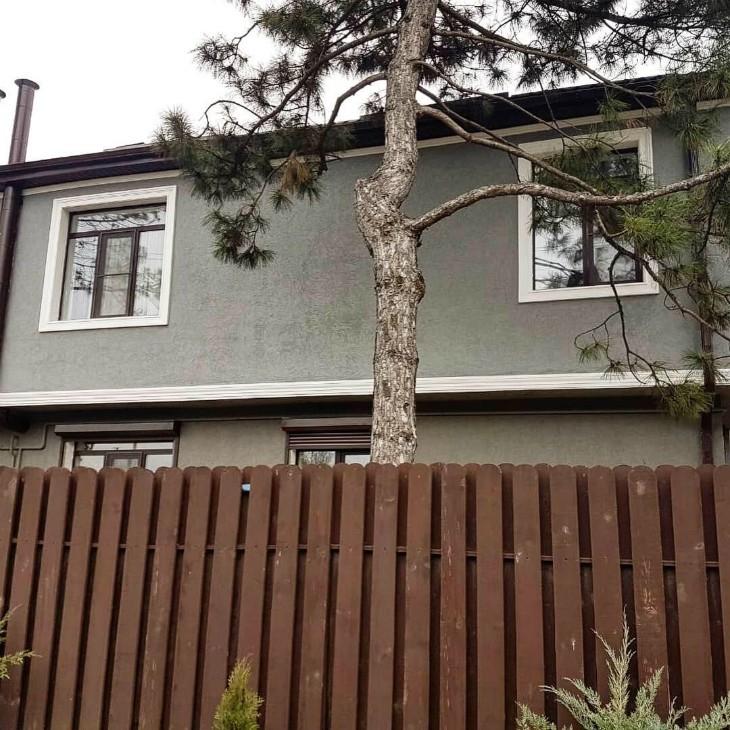 Преображение фасада и облика дома на лицо !