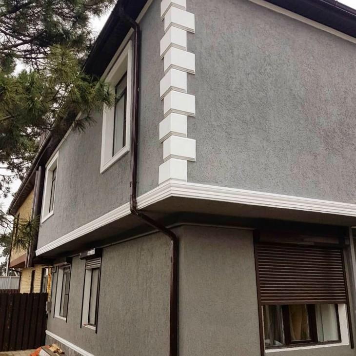 Преображение фасада и облика дома в Краснодаре налицо!