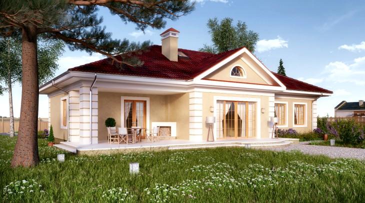 Лепнина из пенополистирола: Потолочный плинтус и фасадный декор