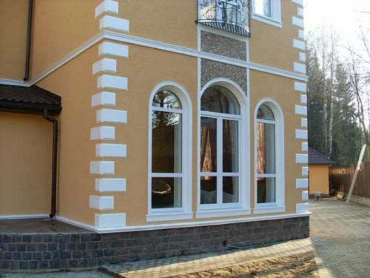 Экстерьер фасада: Пенопластовый фасадный декор – идеальное решение для самовыражения