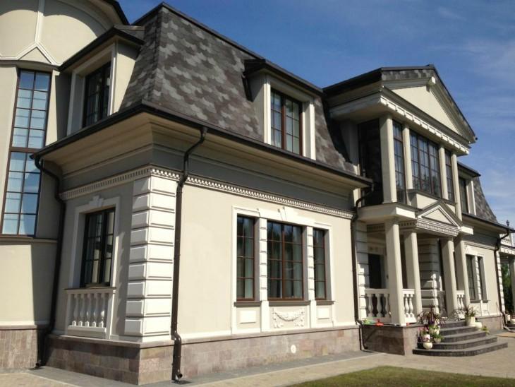 Декоративные фасадные плиты: Термопанели из пенопласта
