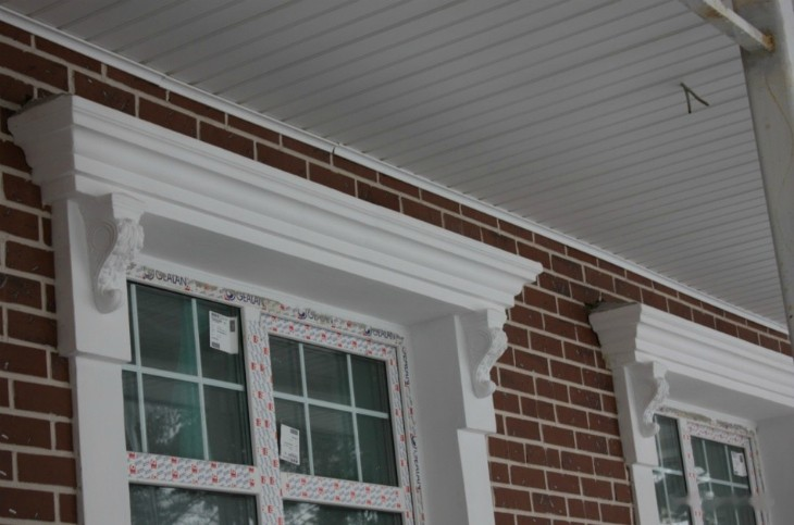 Пенопластовые наличники на окна и двери – современный декор и теплоизоляция