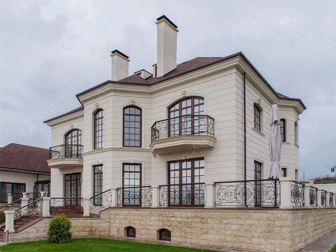 Фасадные элементы из современных материалов