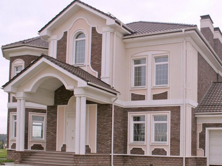 Облицовка фасадов: Мокрый и вентилируемый фасад