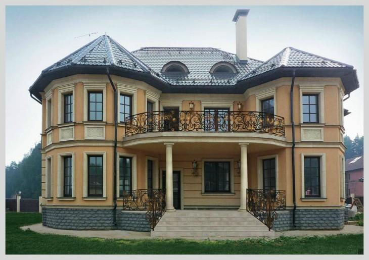 Современный фасад коттеджа: Из чего складывается облик постройки в Крыму